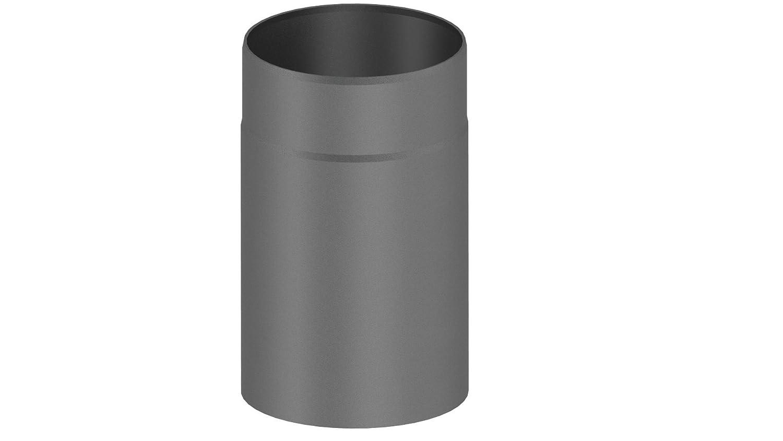 Ofenrohr / Kaminrohr / Rauchrohr mit 250 mm Lä nge und 150mm Innendurchmesser, grau Ferro-Lux