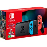Nintendo Switch Console Neon with Mario Kart 8 Deluxe
