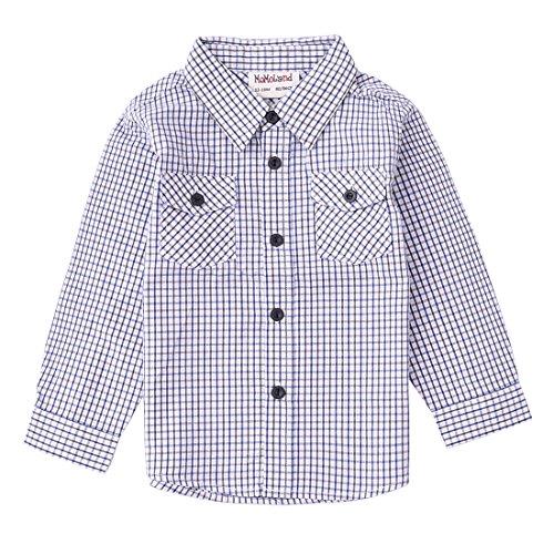 Gingham Check Woven Shirt - 6
