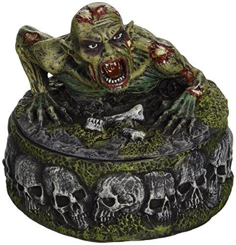 Design Toscano Zombie Skull Cauldron Box