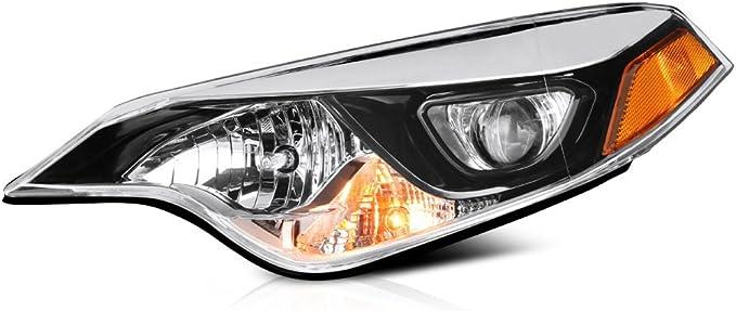 Amazon.com: vipmotoz 2014–2016Toyota Corolla faros delanteros: Automotive