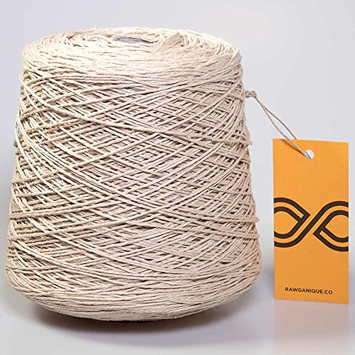 Organic European Hemp Twine 12-Strand 1-Kg Spool by Rawganique