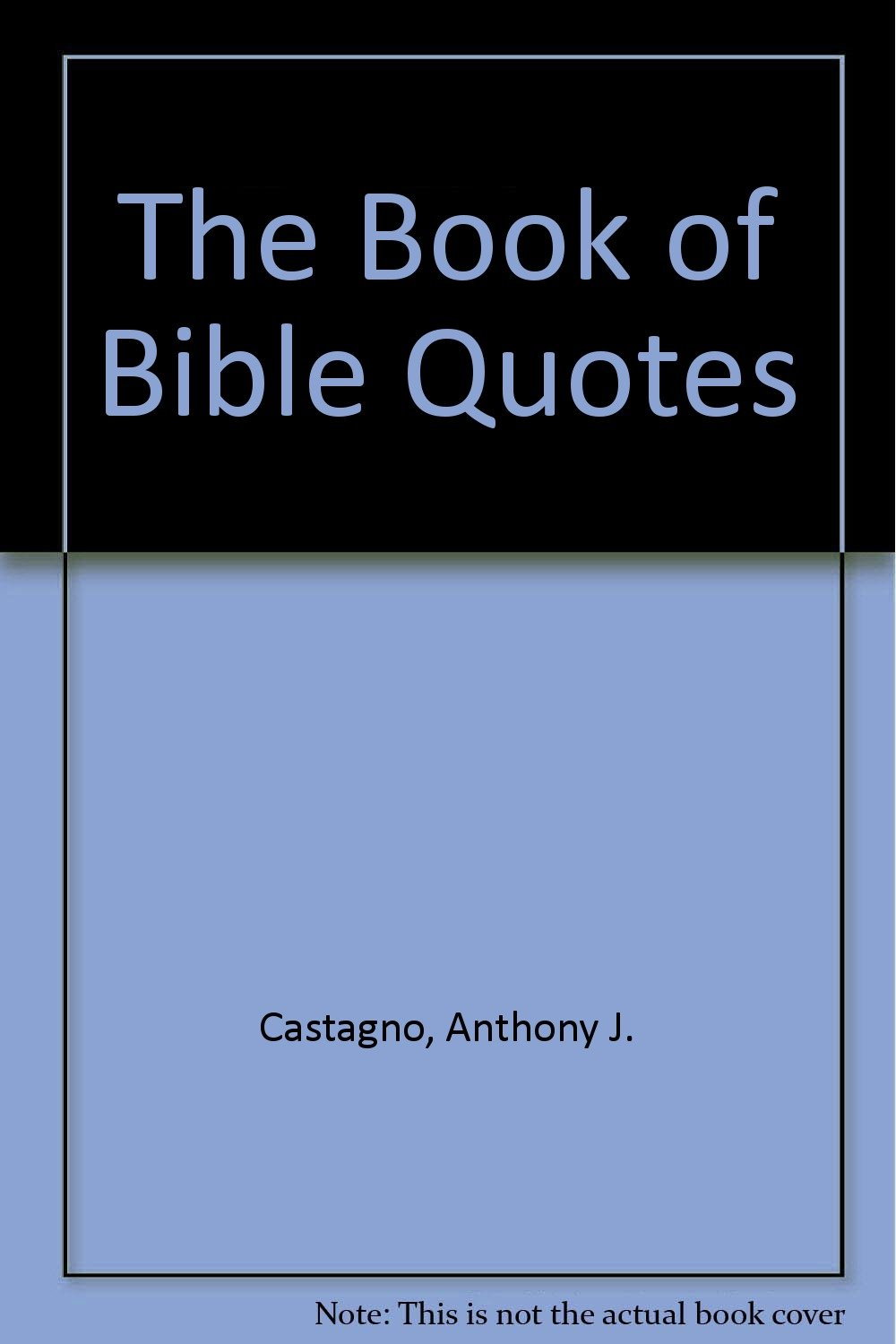 Buy The Book Of Bible Quotes Book Online At Low Prices In India