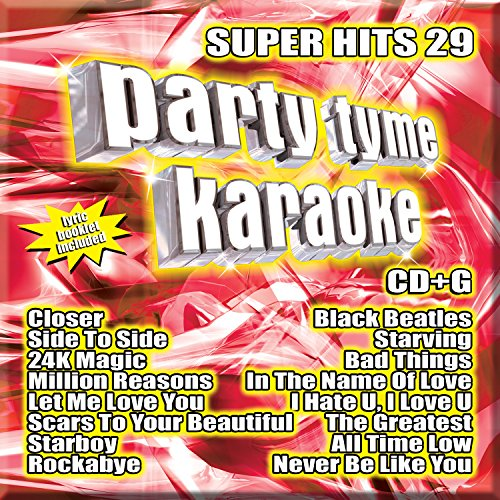 [Party Tyme Karaoke - Super Hits 29 [16-song CD+G]] (Karaoke Hit Songs)