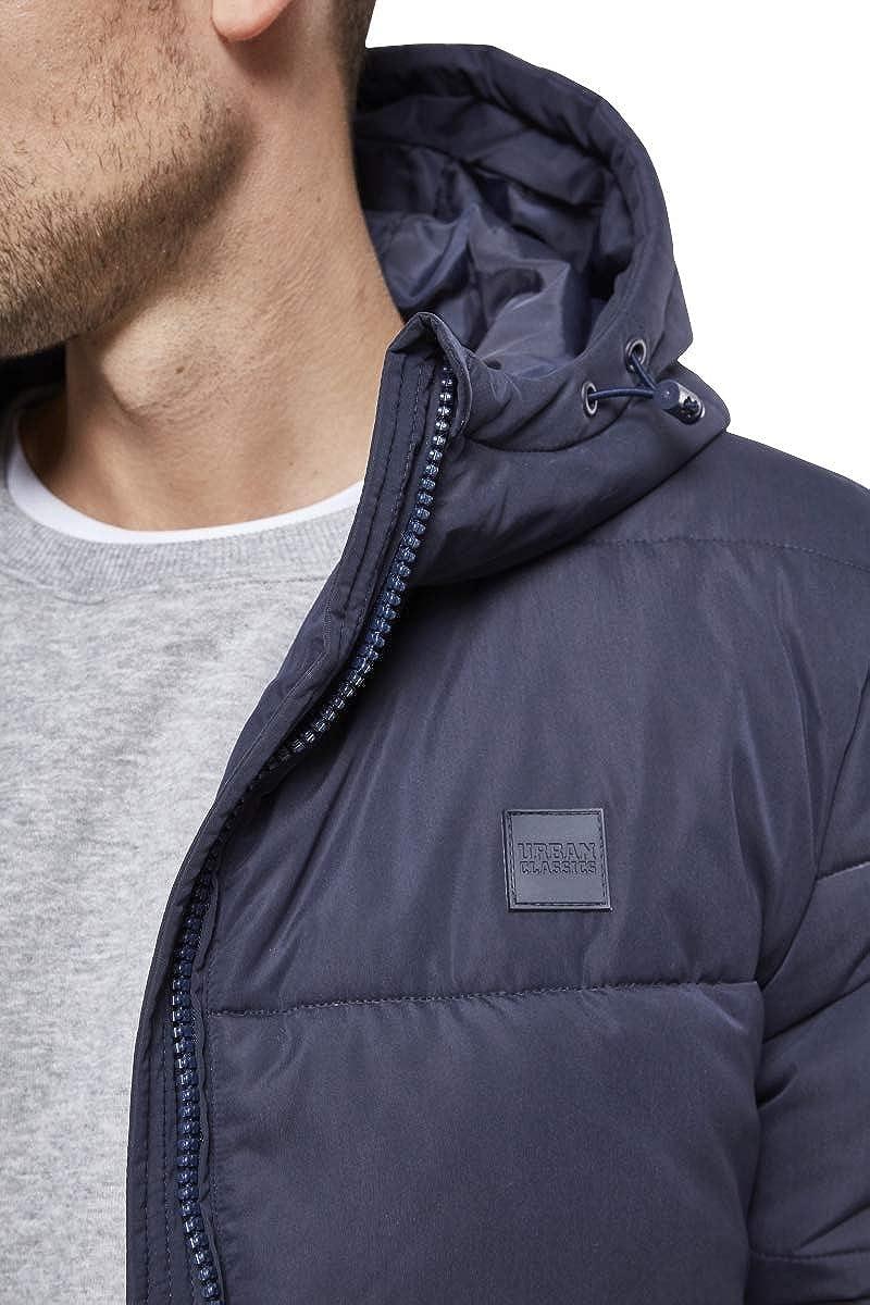 Urban Classics Herren Hooded Peach Puffer Jacket Jacke