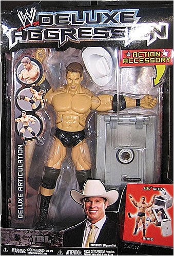 WWE Wrestling DELUXE Aggression Series 16 Action Figure JBL with Safe