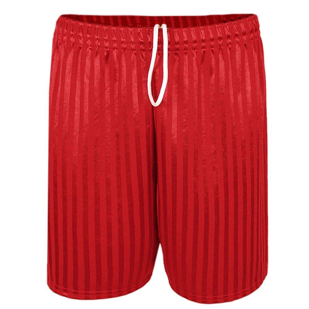 Paramount Men's Shadow Stripe Drawstring Football Sports Shorts