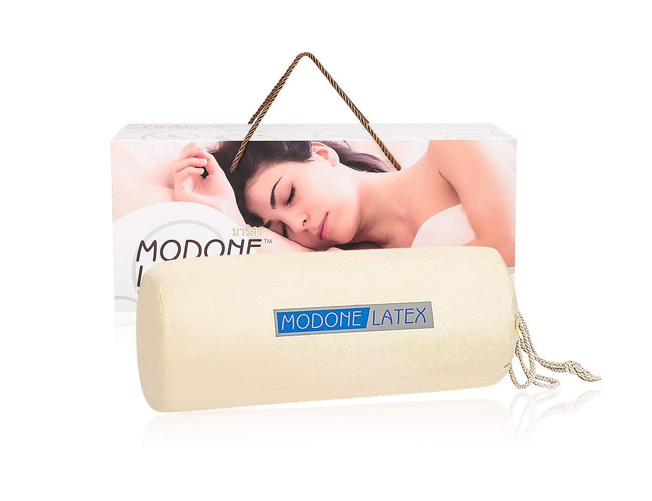 c4c4362c5aa Amazon.com  MODONE Natural Foam Talalay Latex Bed Pillows for Sleeping  Memory Foam with Beauty Hypoallergenic Pillows  Health   Personal Care