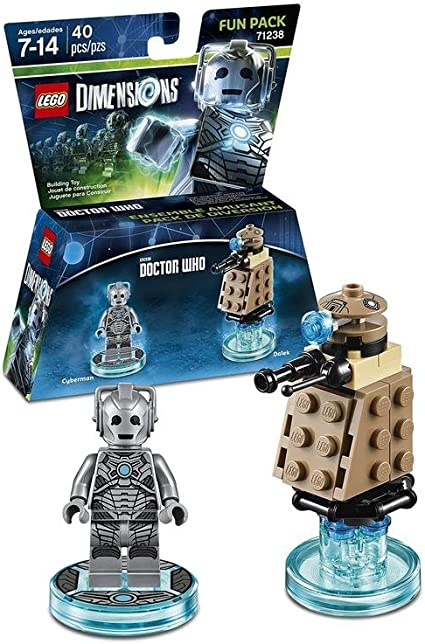 LEGO Dimensions - Doctor Who, Cyberman: Amazon.es: Videojuegos