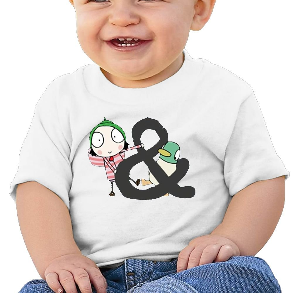 Jackson 6-24 Month Baby T-Shirt Sarah /& Duck Logo Personalized Fashion Customization White Vito H