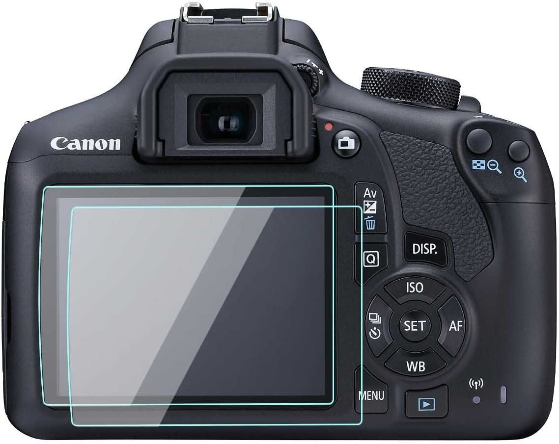 Canon EOS Rebel T5/beso X70/1200d LCD Protector de pantalla Foils ...