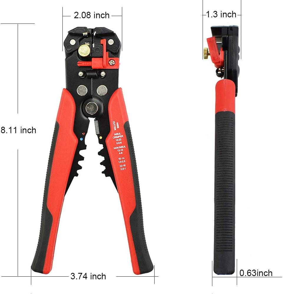 Hot Multifunctional Automatic Stripping Pliers Wire Stripper Wire Cable Tools