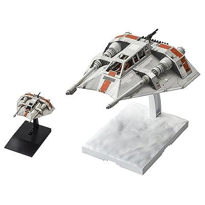 Bandai Hobby Snowspeeder Set Star Wars, Bandai Star Wars 1/48 & 1/144 Plastic Model Hobby Vehicle: Bandai Hobby Gunpla: Toys & Games