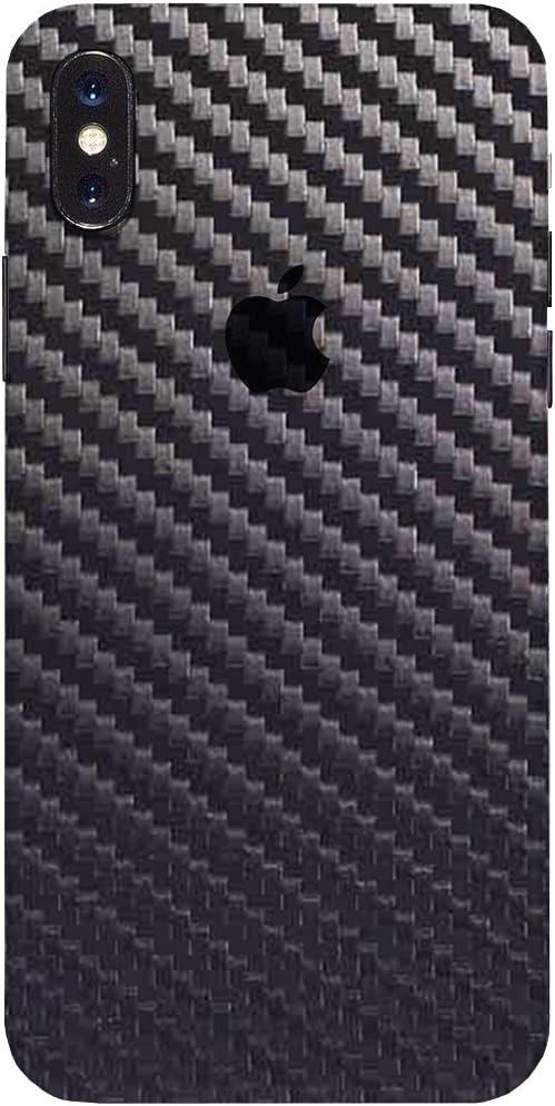 7 Layer Skinz Custom Skin Wrap Compatible with iPhone XS MAX Matrix Black