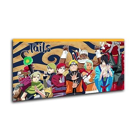 zykcmy,Naruto Poster,Cartel de Anime Japonés,Naruto y Sasuke ...
