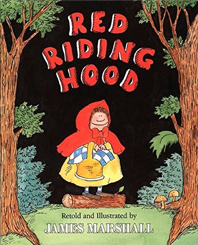 Red Riding Hood (retold by James Marshall) (Little Red Riding Hood Story For Kids)