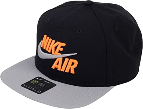 Nike U NSW Pro Cap Air Classic Gorra, Unisex Adulto, Black/Wolf ...