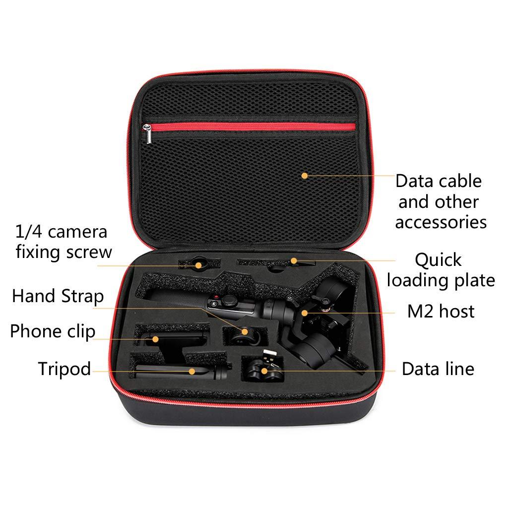 William-Lee Sac /à Main Portable en Nylon Grande capacit/é Sac de Rangement pour stabilisateur Zhiyun Crane-M2