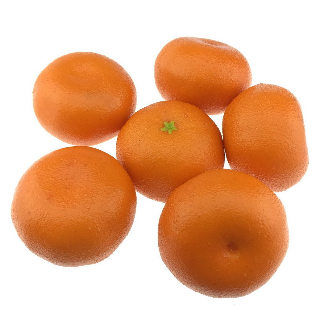 Gresorth-6pcs-Artificial-Orange-Decoration-Fake-Tangerine-Fruit-Home-House-Kitchen-Table-Food-Show-Model