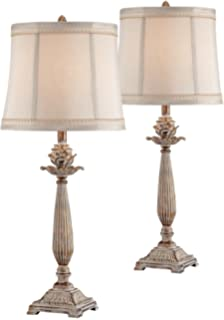Petite Artichoke Font Table Lamp Set Of 2