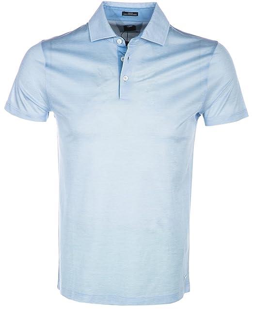 8752ac04 Hugo Boss Polo Shirt T-Pryde 33 in Sky Blue: Amazon.ca: Clothing ...