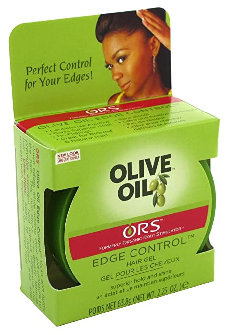 Organic Root Hair Gel, Edge Control, Olive Oil