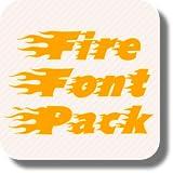 Fire Font Pack