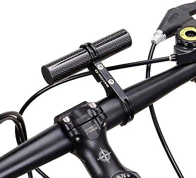 Vovotrade 31.8MM Bicicleta Linterna Poseedor Colector Manillar ...