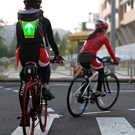 LAOYE Chaleco Intermitente de Bicicleta Chaleco de Flash LED de 4 ...