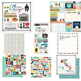 Scrapbook Customs Themed Paper & Stickers Scrapbook Kit, Rome City Memories
