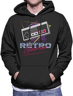 Cloud City 7 Retro Gamer Snes Controller Men's Hooded Sweatshirt