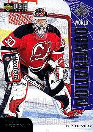 Amazon Com Ci Martin Brodeur Hockey Card 1997 98 Collectors