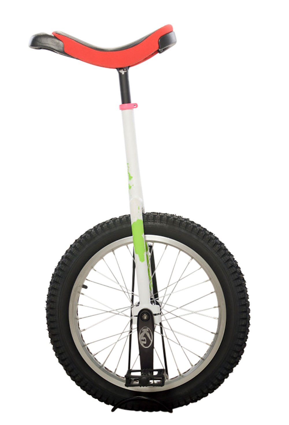 Koxx Troll 20 Trials Unicycle, Red/White with Black Pedals and Silver Rims by Koxx