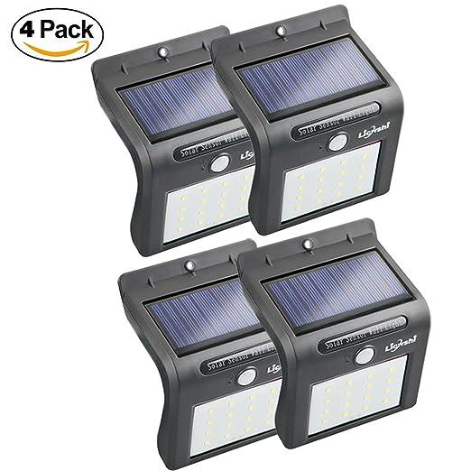 22 opinioni per Licwshi Luci solari 16 Wireless LED del sensore di movimento chiara impermeabile