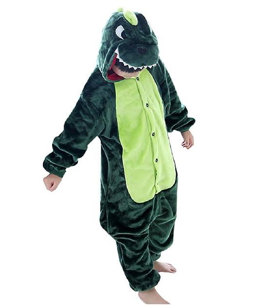 DEBAIJIA Pijama Animal para Niños Niñas Disfrace Cosplay Franela Traje del  Anime Invierno Calentito Pyjamas Navidad Onsie  Amazon.es  Ropa y accesorios cd43f2122ff1