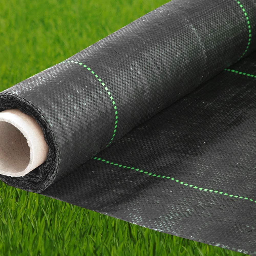 Geotextile Fabric - Weed Barrier - Landscape Fabric - Ground Cover - Weed Control - Garden Fabric - Garden Barrier - Block Fabric - Barrier Fabric - Soil Erosion Landscape Barrier - 6 Ft X 250Ft Black