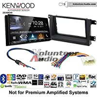 Volunteer Audio Kenwood DDX9904S Double Din Radio Install Kit with Apple CarPlay Android Auto Bluetooth Fits 2006-2008 Honda Ridgeline