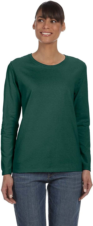 Heavy Cotton 5.3 oz. Missy Fit Long-Sleeve T-Shirt (G540L)