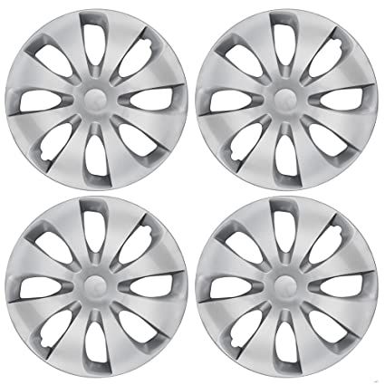 Amazon.com: BDK KT-1043- drx Durable Hubcaps 15