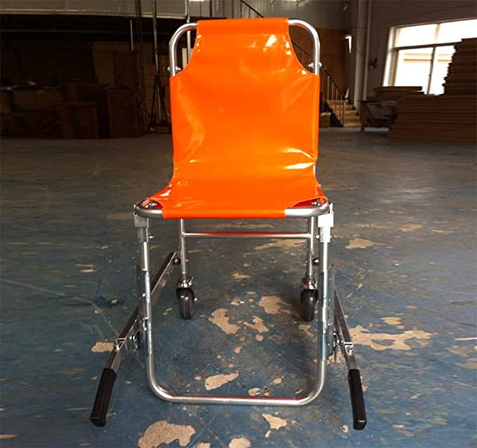 Elevación Médica De La Ambulancia Ligera De Aluminio De La Silla De La Escalera, Diseño Plegable: Amazon.es: Salud y cuidado personal