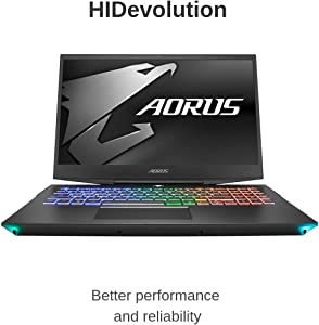 "HIDevolution Aorus 15 W9 15.6"" FHD 144Hz Gaming Laptop | 2.2 GHz i7-8750H, RTX 2060, 16GB 2666MHz RAM, PCIe 512GB SSD + 2TB HDD | Authorized Performance Upgrades & Warranty"