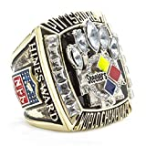 WIBBLY The Year 2005 Pittsburgh Steelers Mens Diamond Championship Rings,Size 9