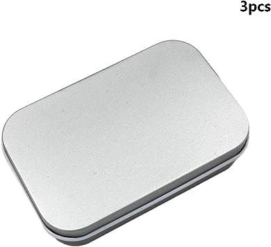 Ogquaton Caja Cuadrada de 3 Unidades de Hierro Caja Cuadrada Caja ...