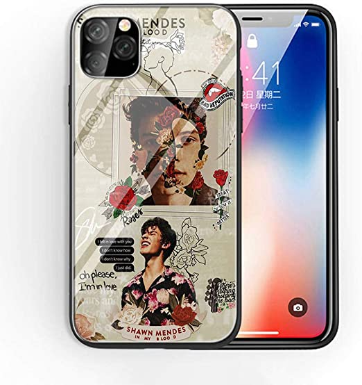 iPhone 7 Plus/8 Plus Tempered Glass Phone Case A-19 Amazing Shawn ...