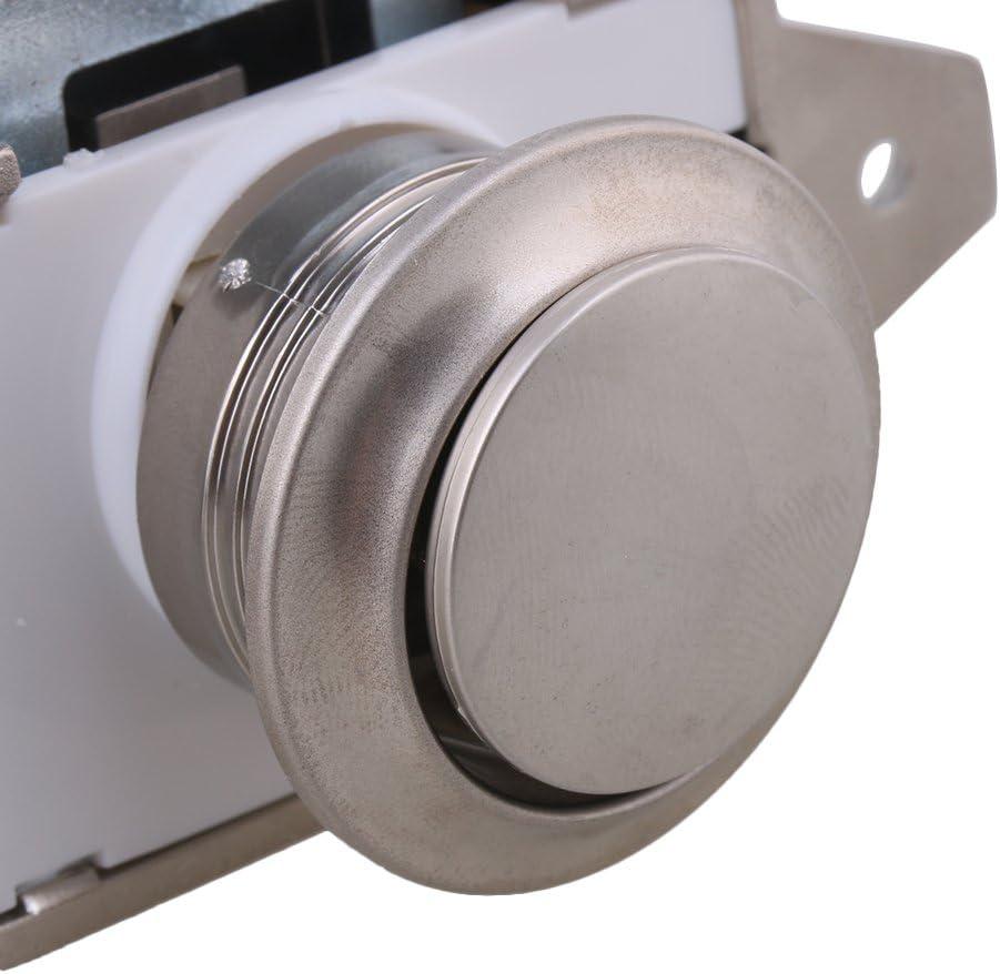 autocaravana Caravana barco armario puerta del gabinete 26 mm agujero de apertura Pearl Nickel Keyless bot/ón pomo del pestillo del gabinete para RV