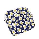 Womenyijiamaoyiyouxia Girl Cute Sanitary Pad Organizer Holder Napkin Towel Convenience Bags (Yellow)