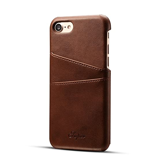 leather cover case for iphone 7 pluslongsonk ultra slim pu leather case with business - Shell Business Credit Card