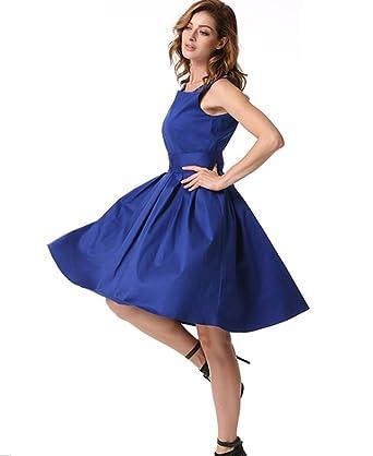 Damen kleider in blau