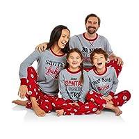 Franhais Christmas Matching Family Pajamas Set Sleepwear Nightwear Homewear