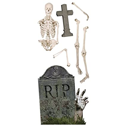 Sticky Pix Glow in the Dark Skeleton Wall Decor Set: Amazon.ca: Home ...